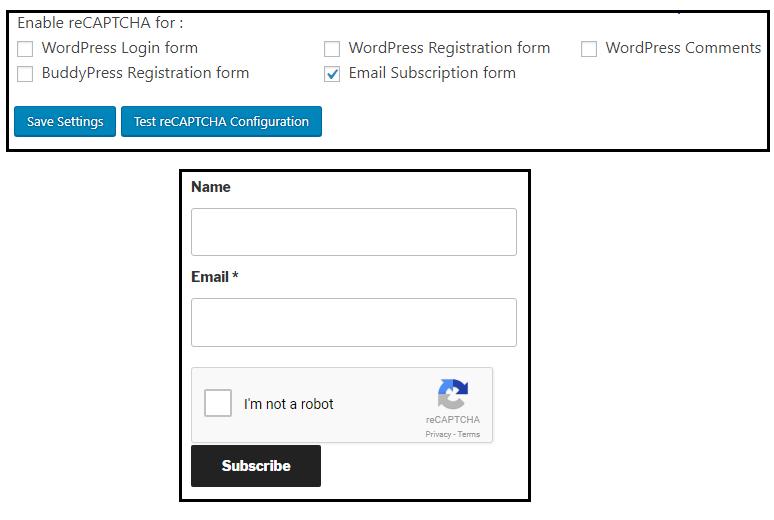 IP Blocking and Google reCaptcha for WordPress - Plugins - miniOrange