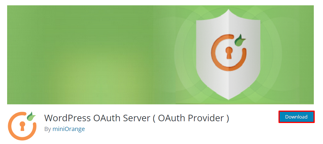 Download OAuth server