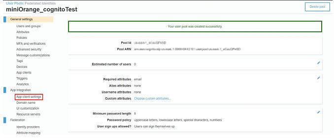 AWS-Cognito_sso_AWS app client setting