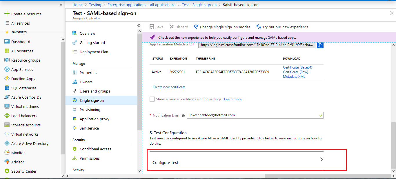 Guide for Drupal Single Sign On (SSO) using Azure AD as IdP