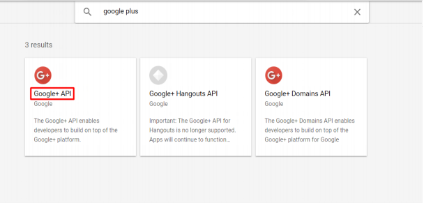 Client_sso_Google PLUS API