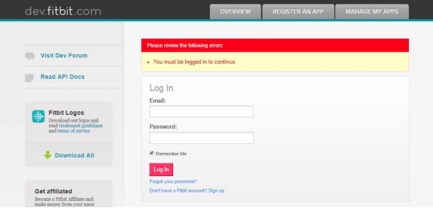 FitBit_sso_Login/ Signup to your FitBit OAuth Server