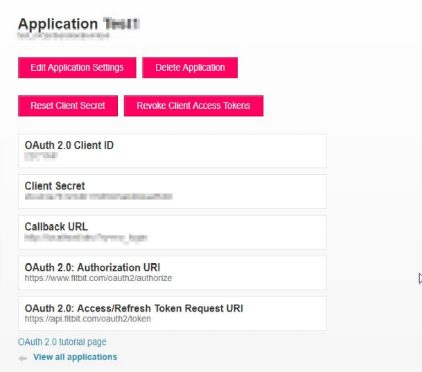 FitBit_sso_miniOrange OAuth Client Module Side Configurations