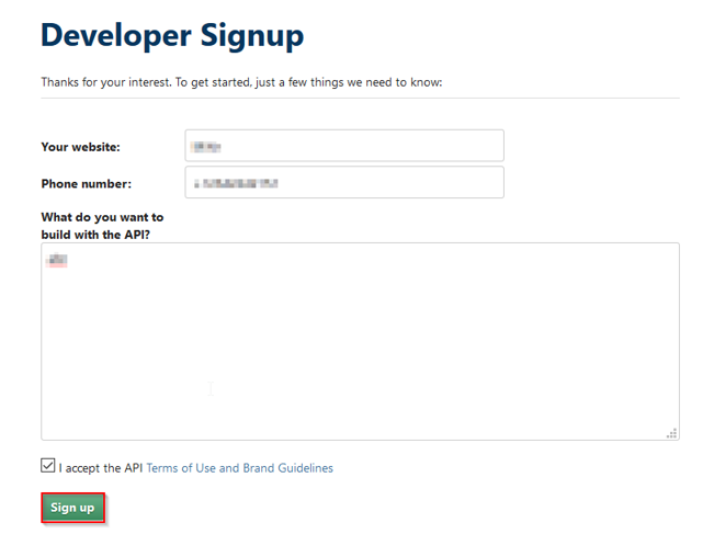OpenId Connect_sso_sign-up button