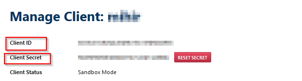 OpenId Connect_sso_Client ID