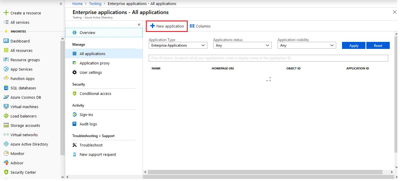 Drupal SAML Single Sing On (SSO) new application