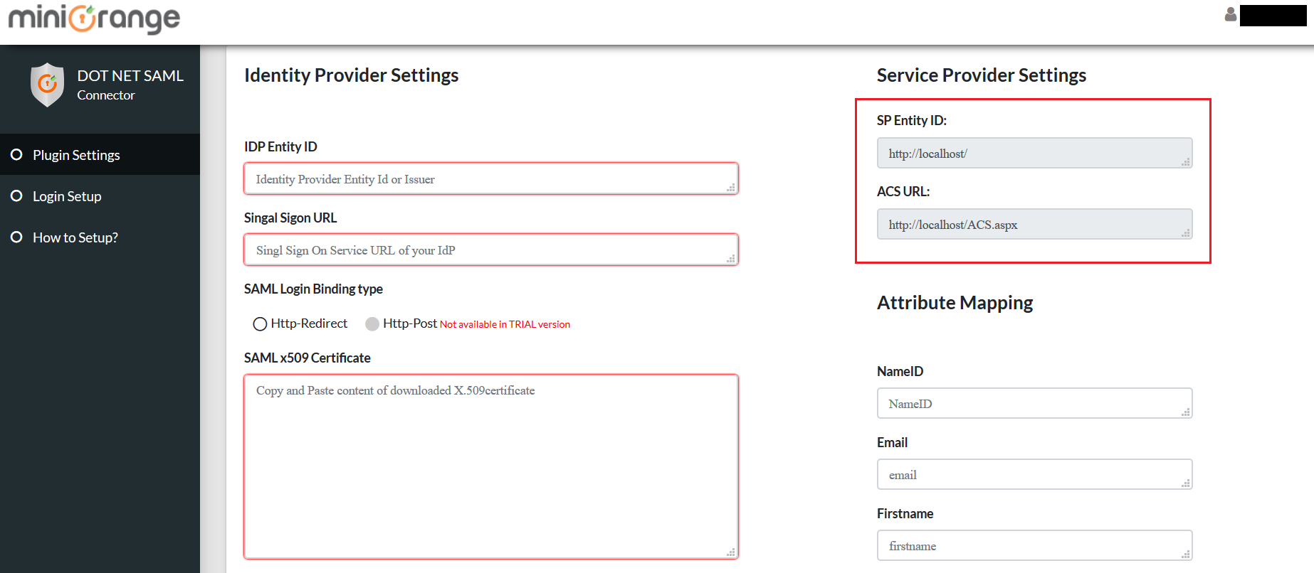 ASP NET SAML 2 0 Single Sign-On (SSO) Connector