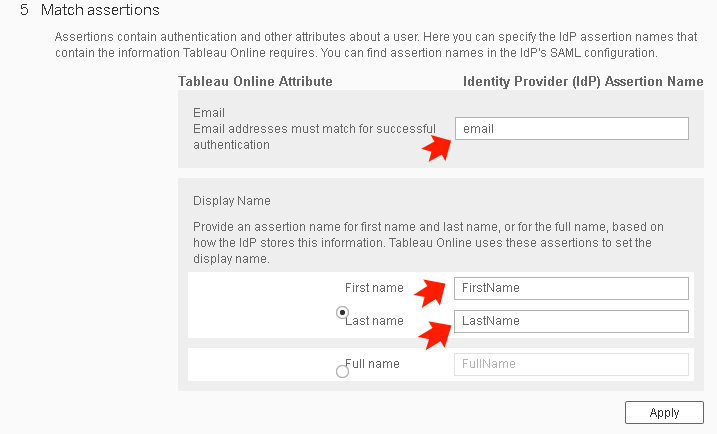 SAML Single Sign On(SSO) for Tableau as SP and Joomla as IDP