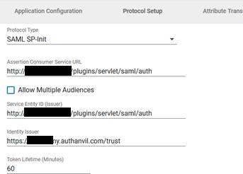 Joomla AuthAnvil sso  protocol setup