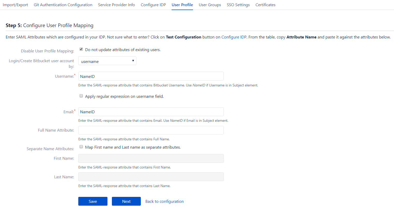 SAML Single Sign On (SSO) into Bitbucket using Centrify - Plugins