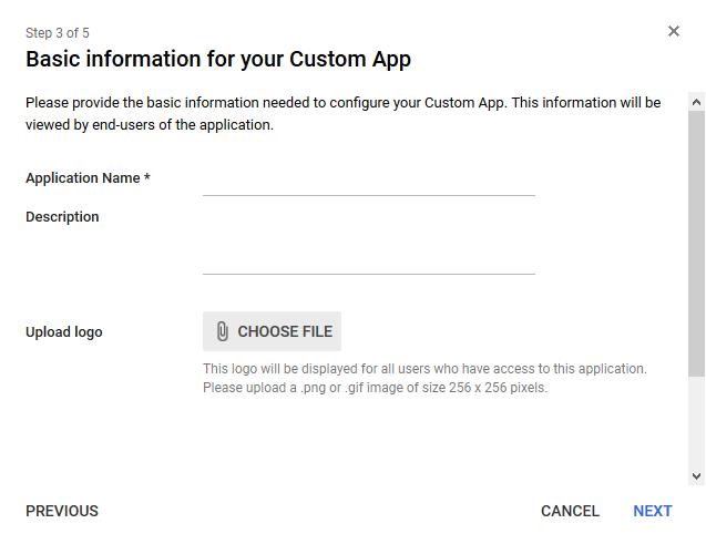 Basic Information - Google G Suite