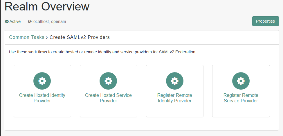 SAML Providers - OpenAM SSO