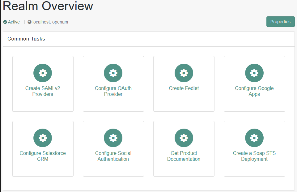 Drupal OpenAM sso realm overview