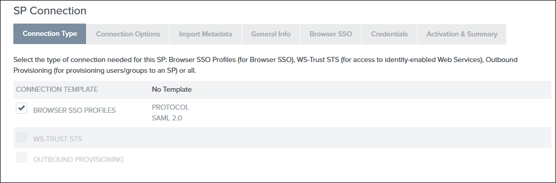 Joomla SAML Single Sign On (SSO) pingfederate sso connection type