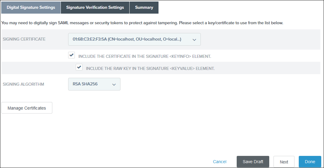 Joomla SAML Single Sign On (SSO) pingfederate sso signin certificate