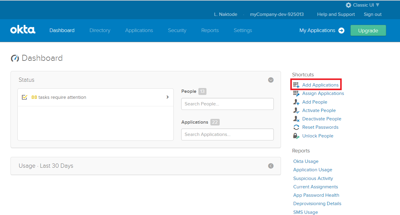 Single Sign On into JIRA using Okta, Okta SSO Login-2