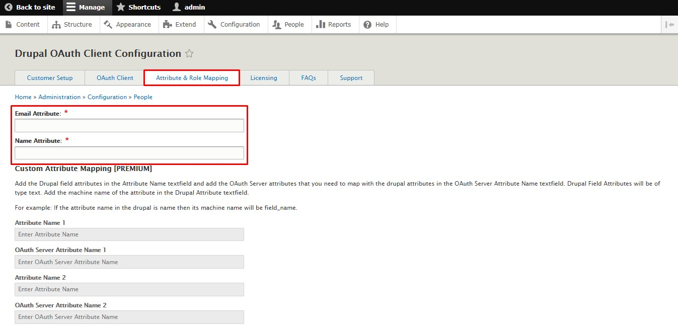 Client_sso_Drupal click on save