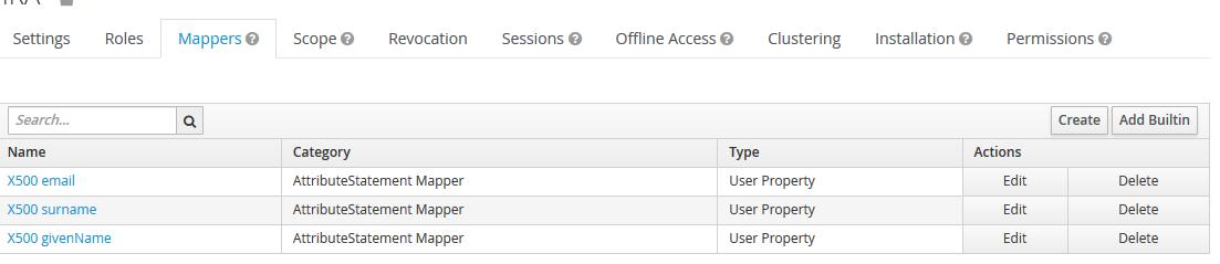 Attribute Mapper - JBoss Keycloak SSO