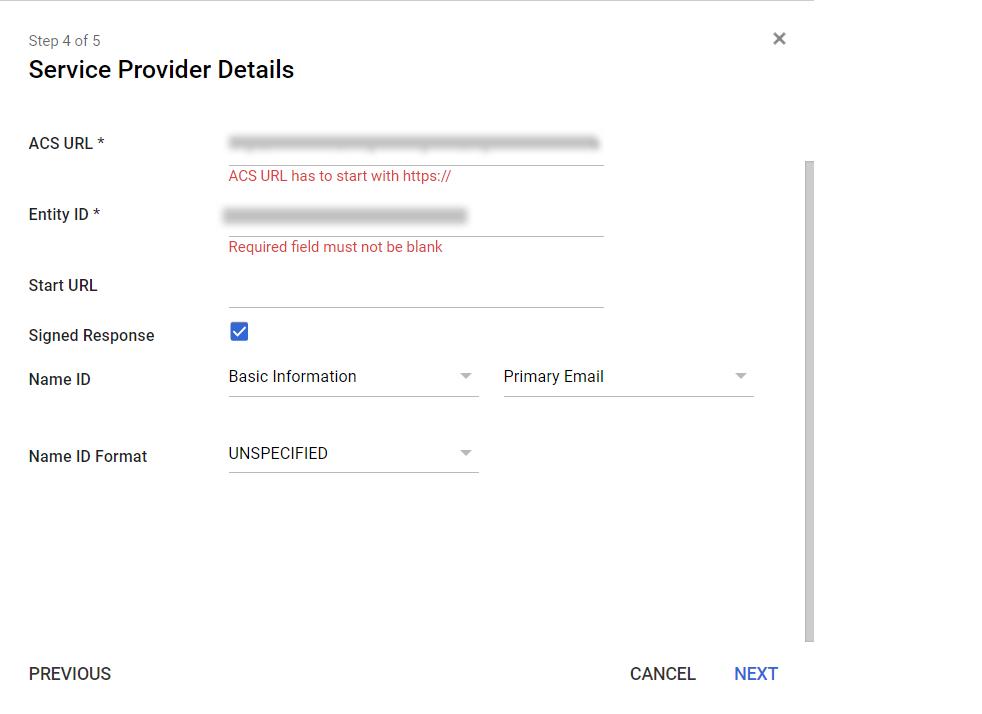 Google-apps sp details
