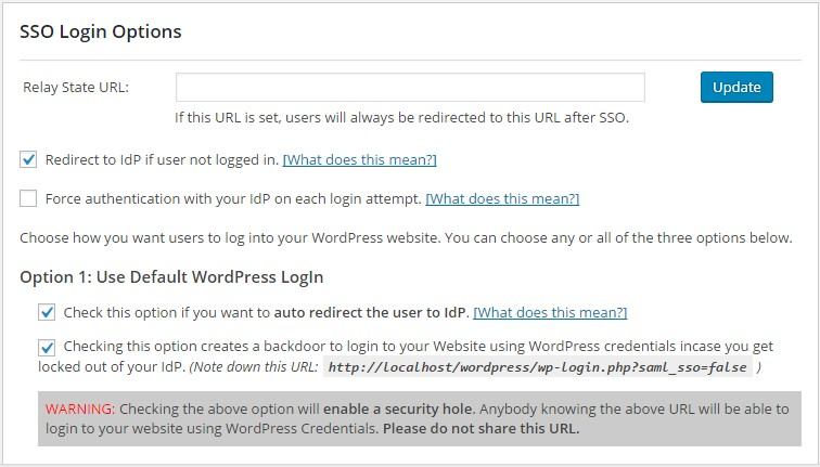 Step by Step Guide for Wordpress Single Sign On (SSO) using
