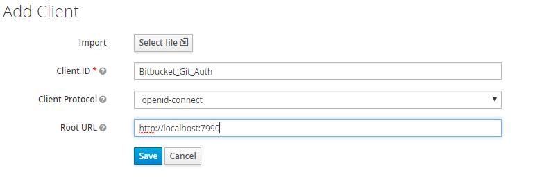 Git Authentication using Jboss Keycloak as Identity Provider, Keycloak