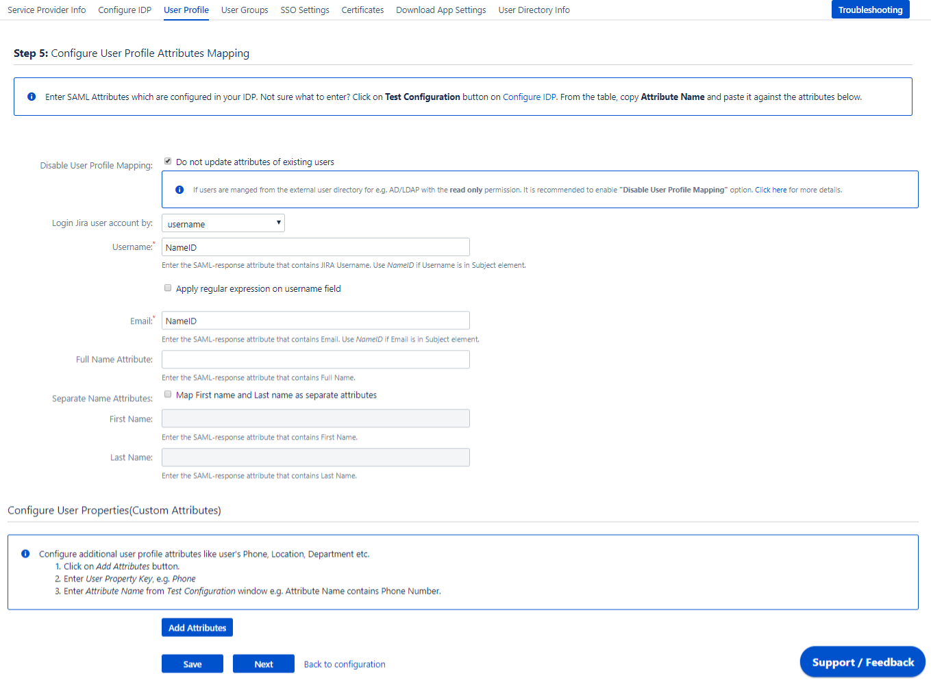 JIRA SAML Single Sign On, SSO