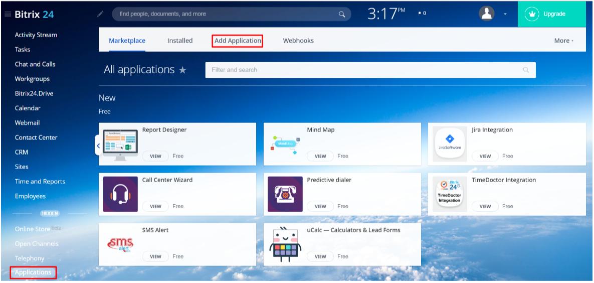 Joomla Bitrix24 OAuth SSO, OAuth/OpenId navigation menu