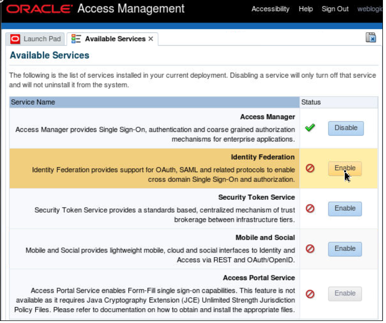Oracle Access Manager,sso