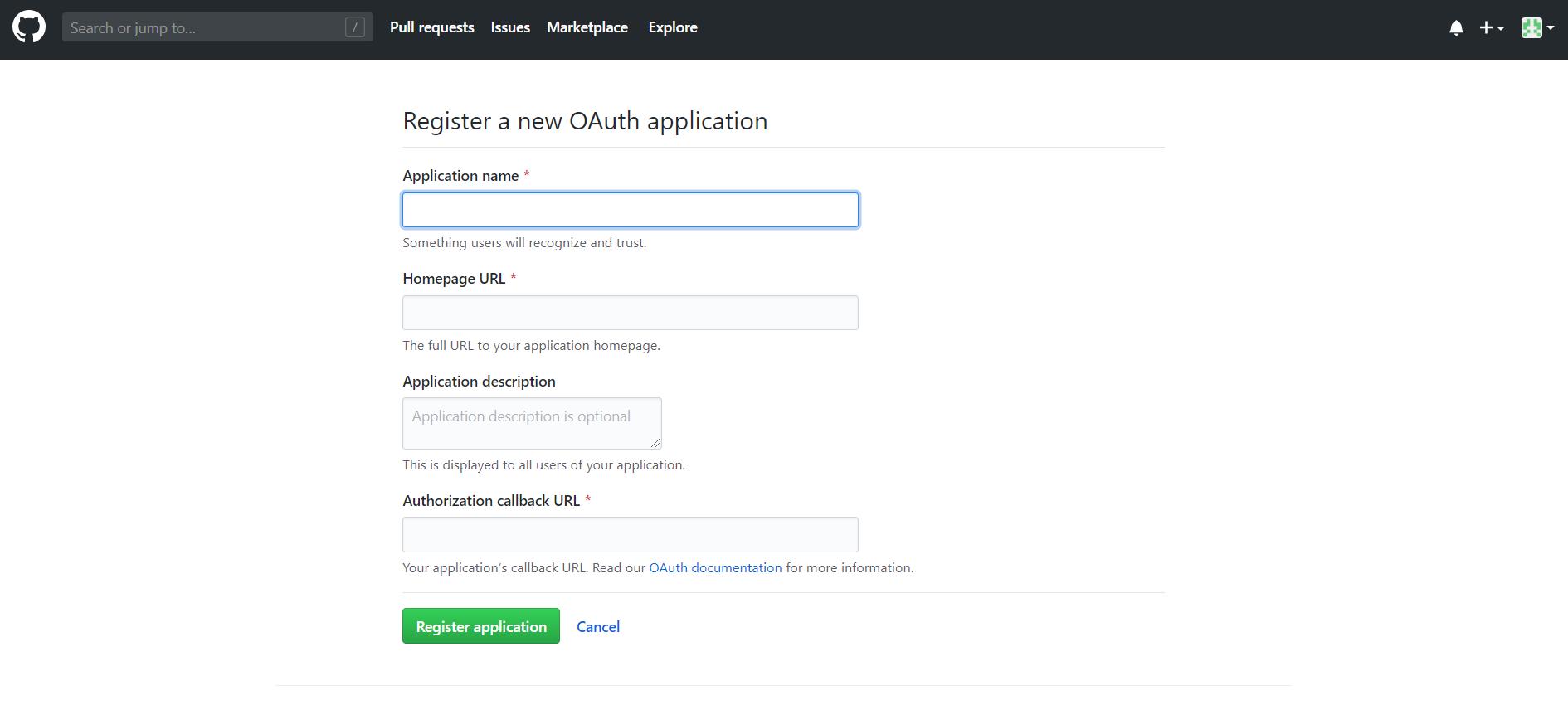 OAuth/OpenID/OIDC Single Sign On (SSO), GitHub Enterprise SSO Login Enter app credentials