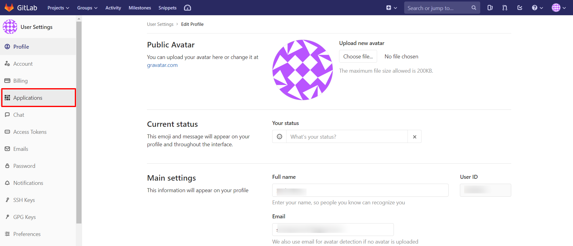 OAuth/OpenID/OIDC Single Sign On (SSO), GitLab SSO Login Create app