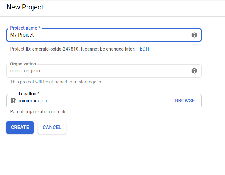 OAuth/OpenID/OIDC Single Sign On (SSO), Google Apps SSO Login NEW PROJECT