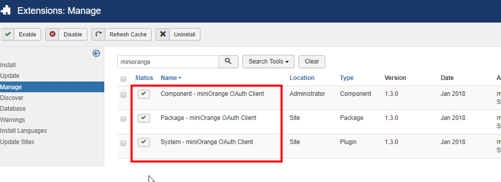 Line OAuth/OpenId component of plugin