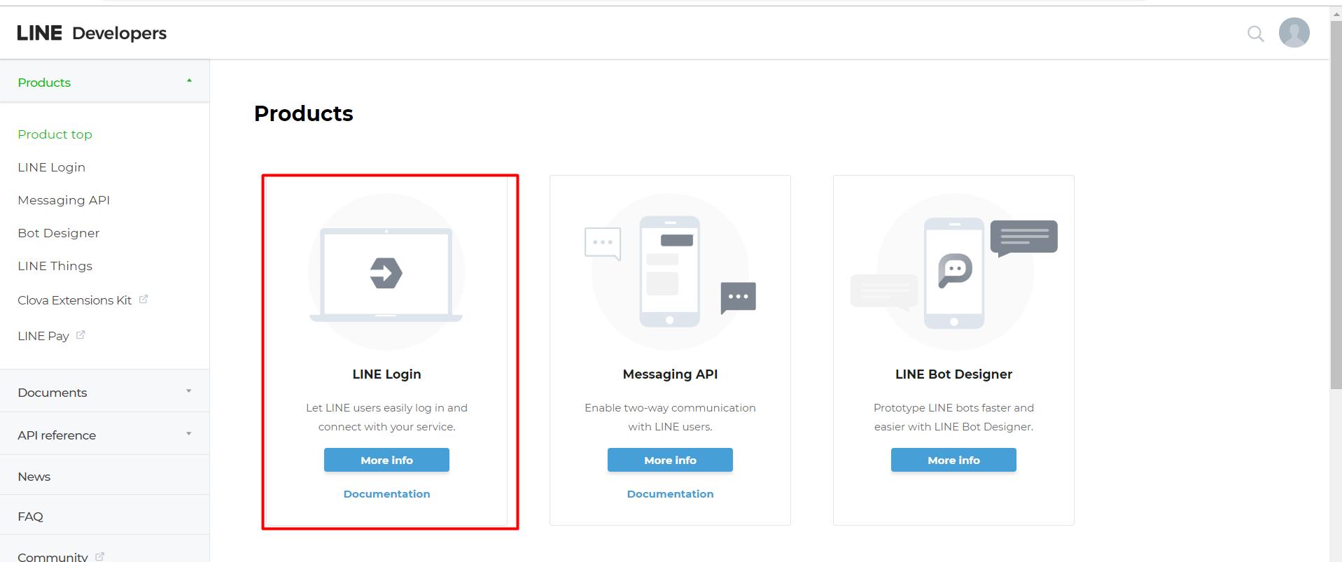 Line create app