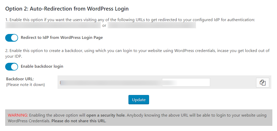 wordpress saml optin 2