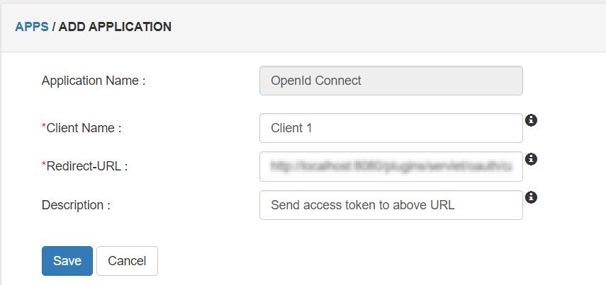 OIDC Client Details