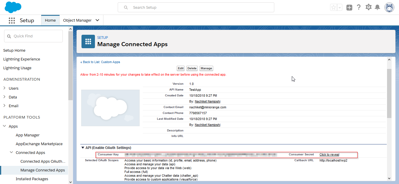salesforce-manage-connected-apps