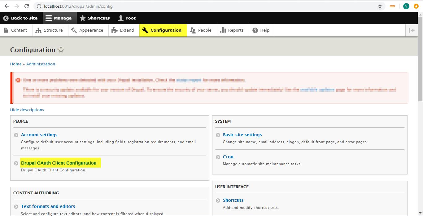 Miniorange OAuth install