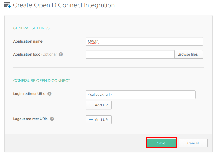 OAuth/OpenID/OIDC Single Sign On (SSO), Okta SSO Login OpenID connect integration