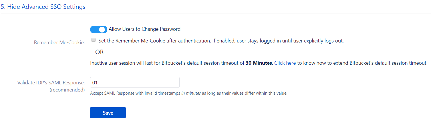 Bitbucket SAML Single Sign On, SSO-10