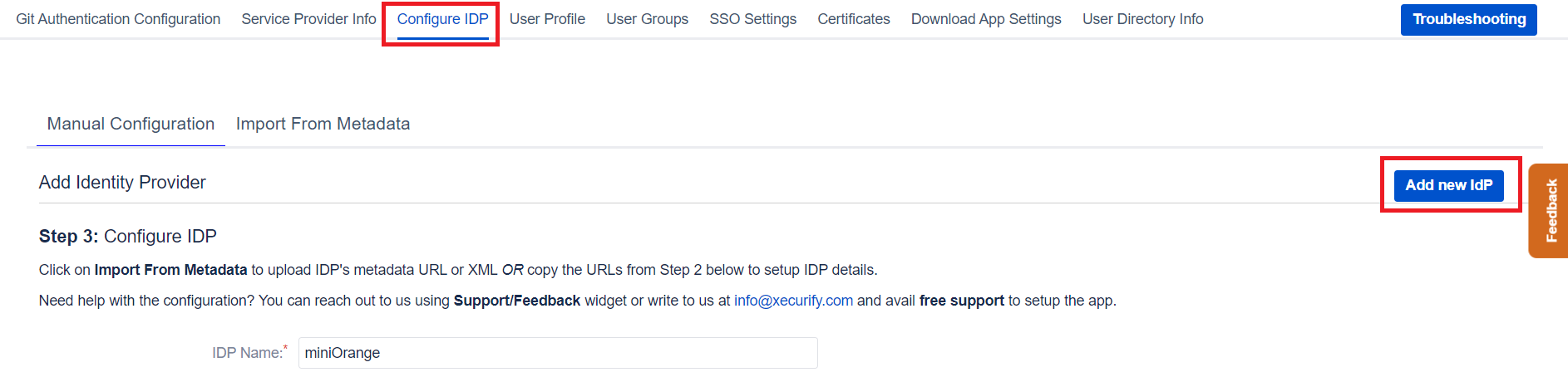 Bitbucket SAML Single Sign On, SSO-5