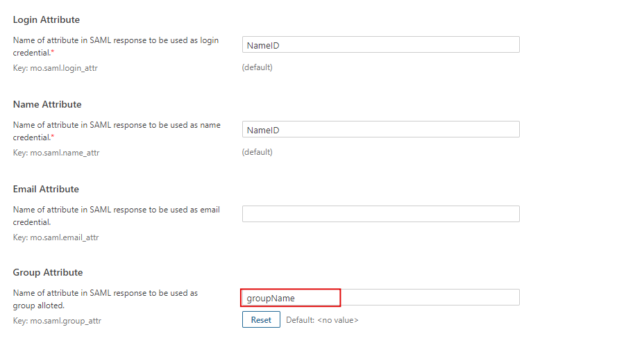 sonarqube saml single sign on (sso) plugin - attribute_mapping