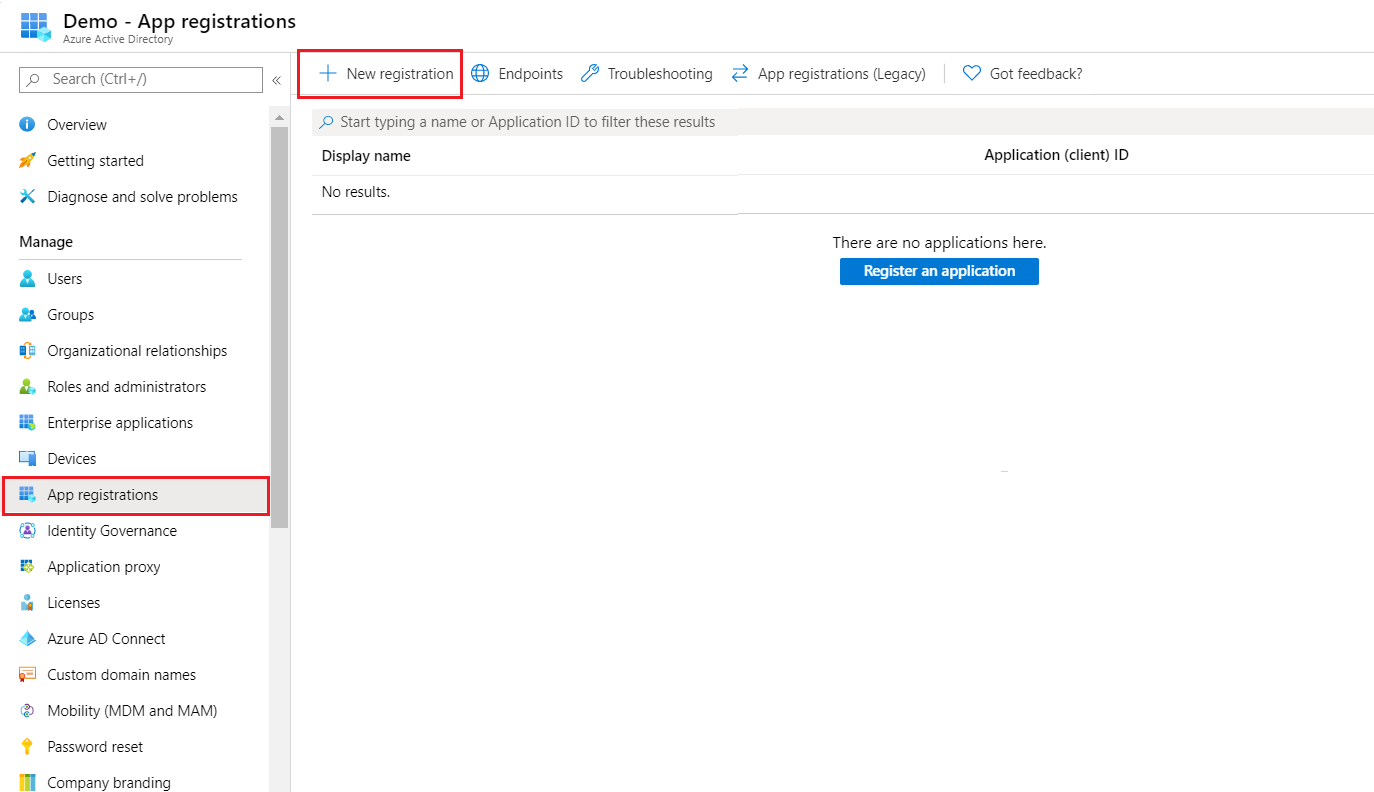 OAuth/OpenID/OIDC Single Sign On (SSO), AzureAD SSO App-Registration