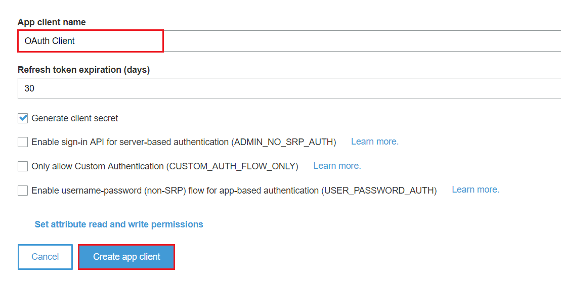 AWS-Cognito as OpenID