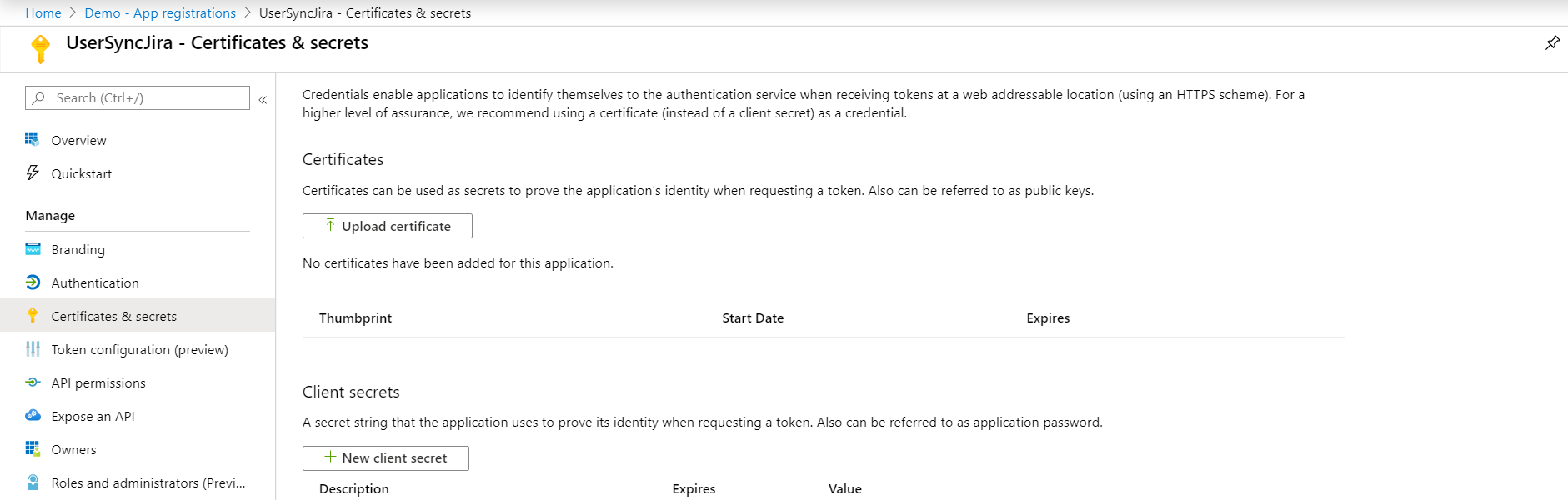 sync users, groups and directory details using Azure AD into Jira and Confluence