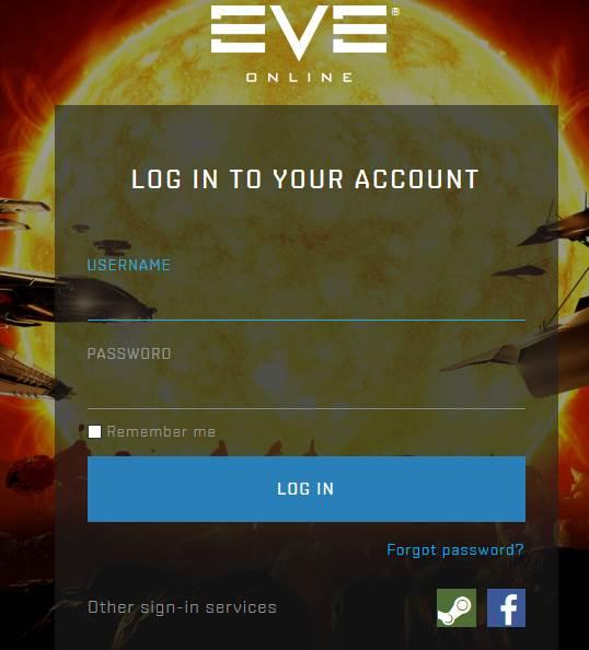 Eve Online SSO (Login Panel)