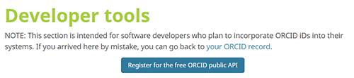 ORCID as an Oauth Note
