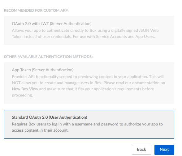 SSO to your application using Box(Select OAuth 2.0)