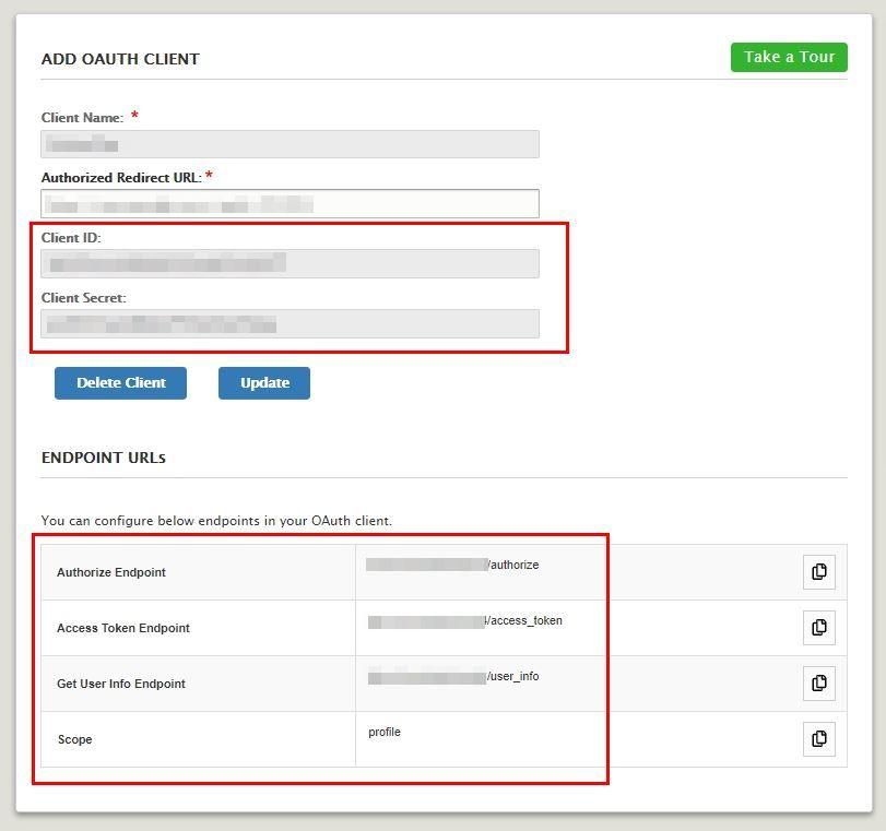 Drupal OAuth Server - Endpoints