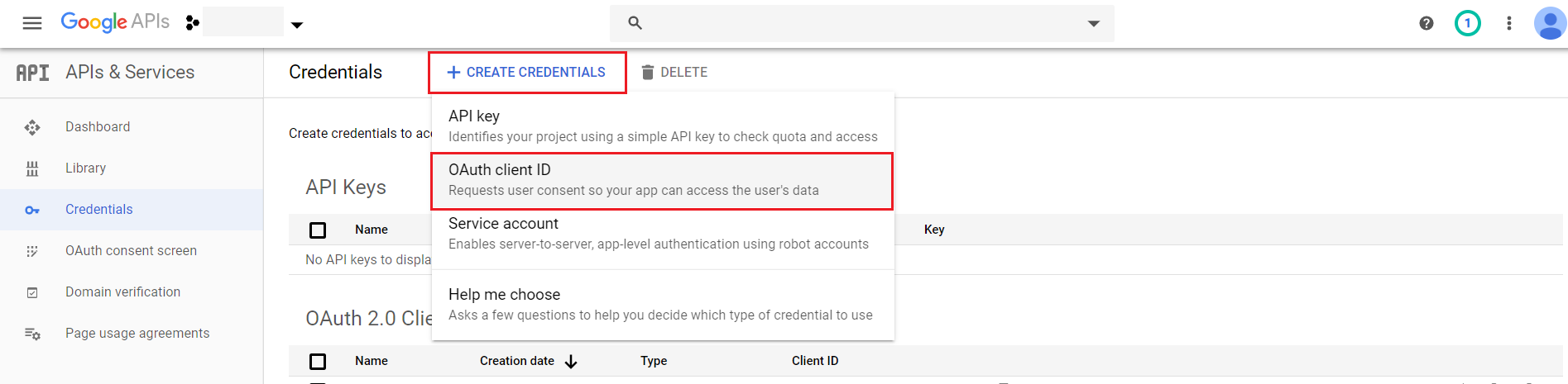 OAuth/OpenID/OIDC Single Sign On (SSO), Google Apps SSO Login OAuth client ID