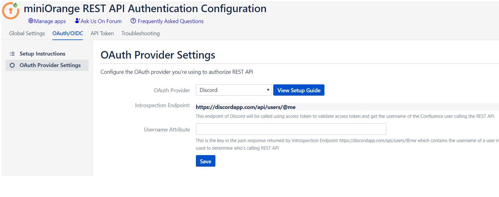 Rest API OAuth, API token, API Key authentication for Jira and Confluence DiscordApp